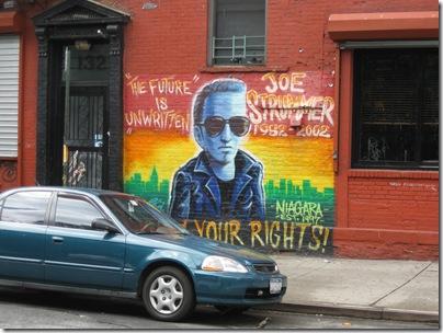 Joe Strummer Memorial Mural