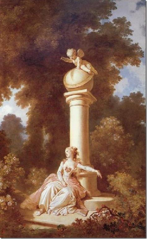 Jean-Honore Fragonard Reverie