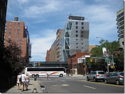 Susquehanna Trailways Bus In Chelsea