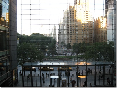 Columbus Circle Seen From Borders