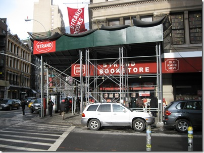 NYC Strand Bookstore