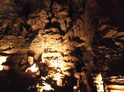 Lincoln Caverns Interior