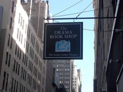 The Drama Book Shop Sign