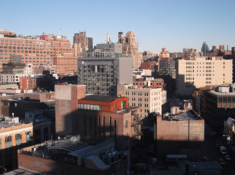 Whitney Museum of American Art View