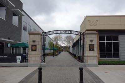 Wilkes University Gate