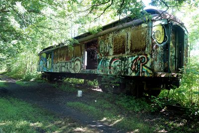 Delaware Canal Railroad Freight Car