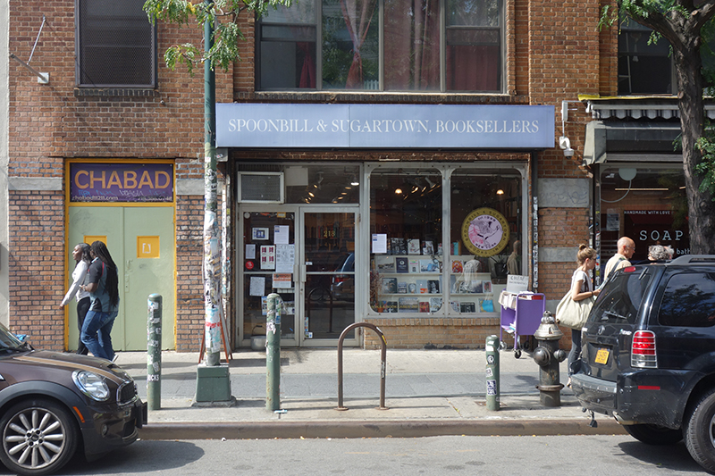 Spoonbill and Sugartown Booksellers