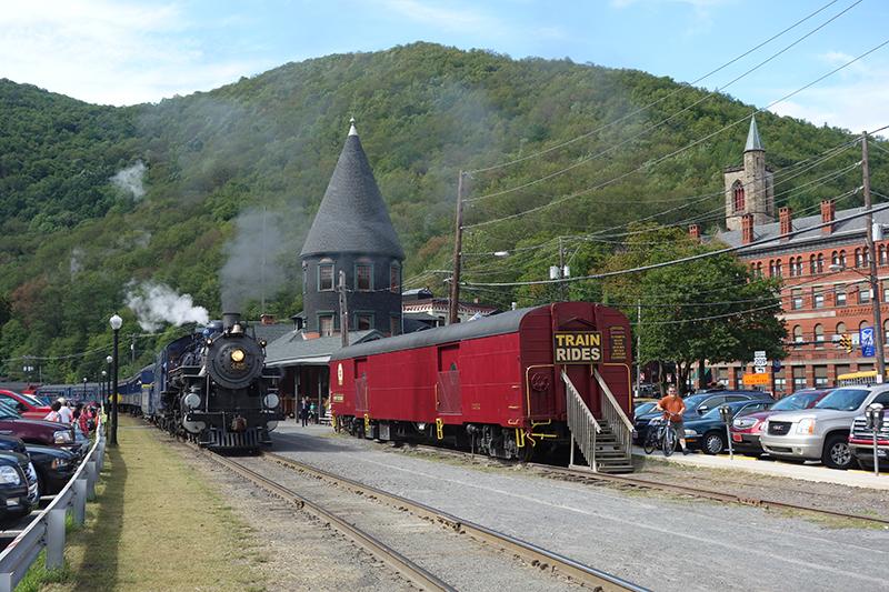 Steam Engine Train Rides