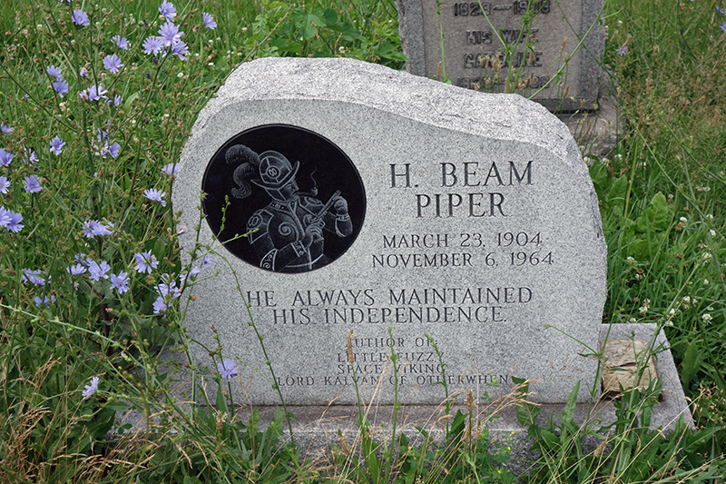 H. Beam Piper Tombstone