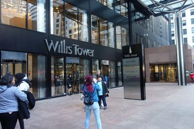 Willis Tower Entrance