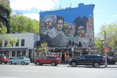 Empire Diner Mural