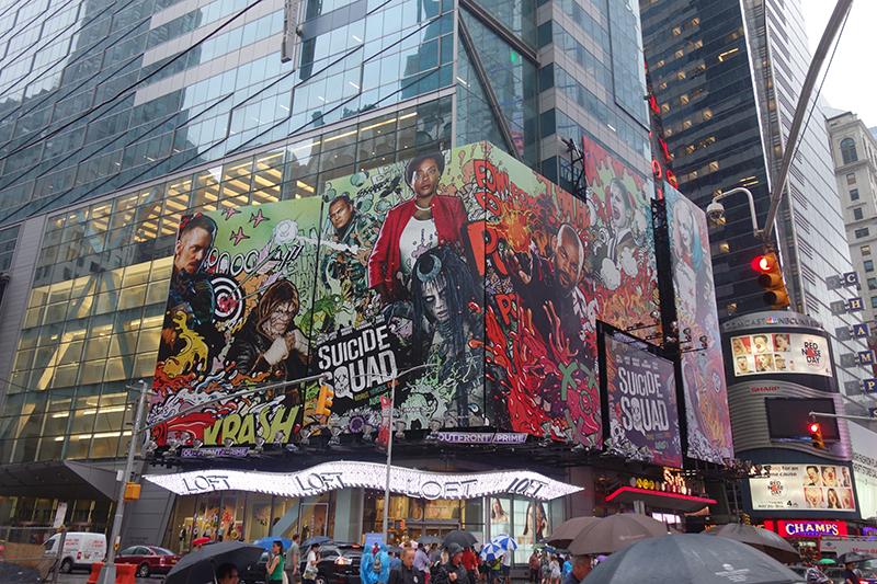 Suicide Squad Billboard