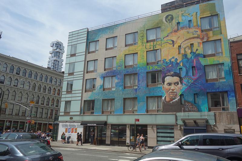 Federico Garcia Lorca Mural