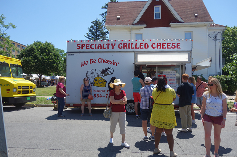 Specially Grilled Cheese