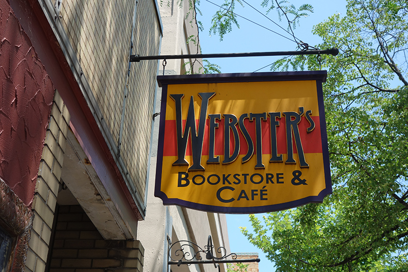 Webster's Bookstore Cafe