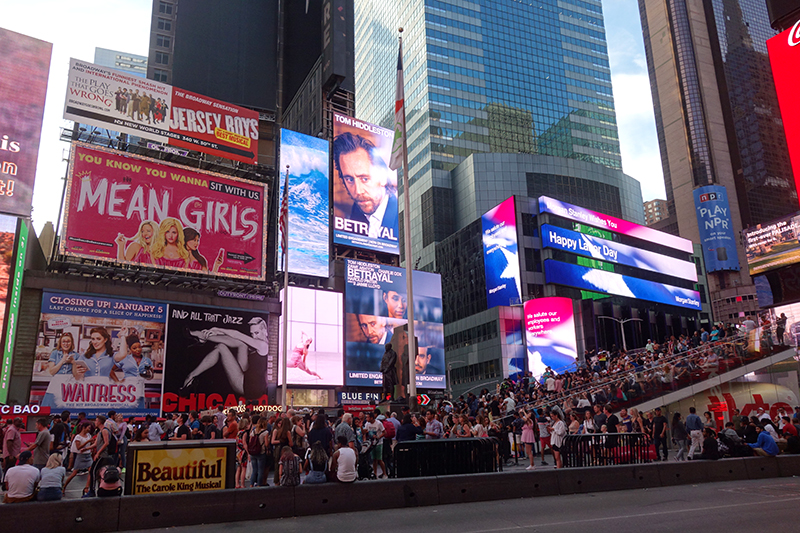Times Square Betrayal