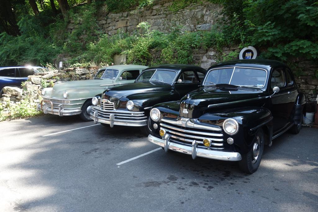 Classic Cars On Race Street
